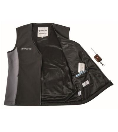 Gilet chauffant électrique Mares XR pour compléter vêtements secs de plongée loisir ou technique en eau très froide