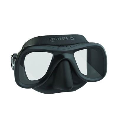 Masque d'apnée & chasse sous-marine Mares Pures Instinct Samurai X plus confortable, cerclage plus fin, volume réduit - noir