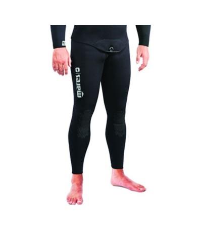 Pantalon de combinaison Explorer 30 en refendu 3mm noir Mares Pure Instinct pour la chasse sous-marine et l'apnée