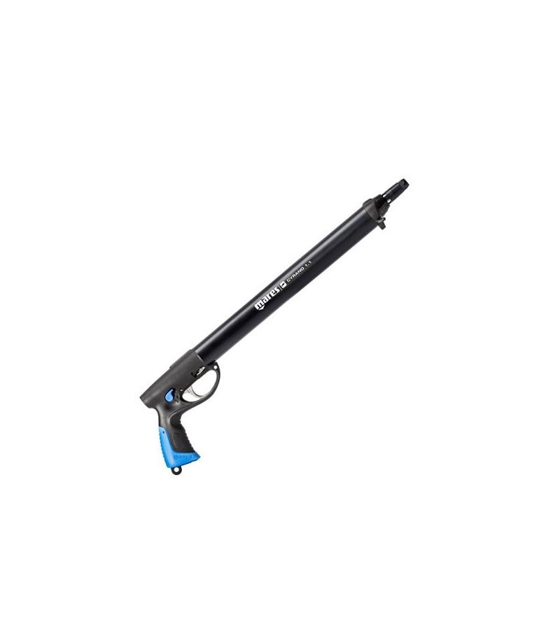 Fusil harpon à air comprimé de chasse sous-marine Mares Pure Instinct Cyrano 1.1 55cm NP