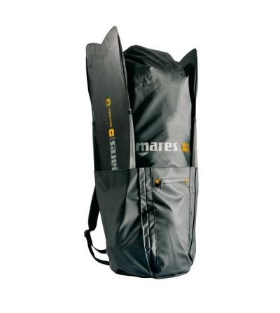 Grand sac à dos étanche Attack Backpack 75L Mares Pure Instinct pour équipement complet & palmes d'apnée ou chasse sous-marine