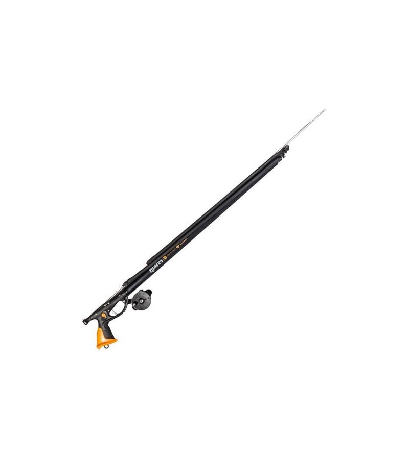 Arbalète de chasse sous-marine Mares Pure Instinct Viper Pro DS 90cm avec double sandow et moulinet vertical spiro
