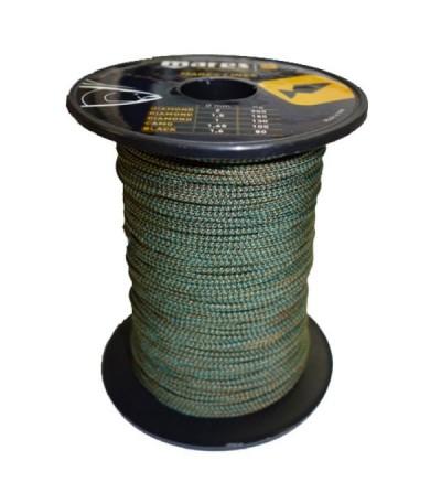 Bobine de 100m de drisse Camo diamètre 1.65mm (100kg) Mares Pure Instinct pour moulinet et arbalètes de chasse sous-marine