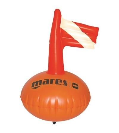 Bouée ronde en PVC de signalisation Mares Pure Instinct Sphère pour la chasse sous-marine, l'apnée & la nage