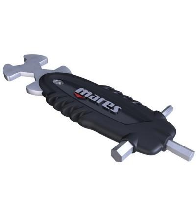 Multi tool Pro Mares : Poignée d'outils avec clés hexagonales et allen pour l'entretien de votre matériel de plongée
