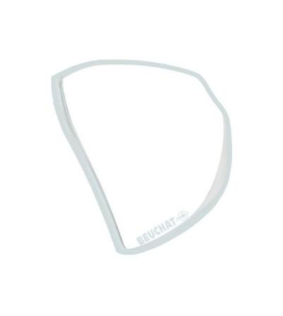 Lentille gauche correction optique négative ou positive des verres du masque Beuchat X-Contact 2 Mini de plongée & snorkeling