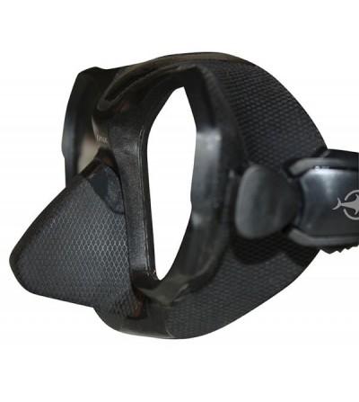 Masque deux verres à volume hyper réduit Beuchat Lynx, design furtif pour la chasse sous-marine & l'apnée