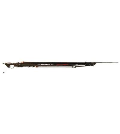 Fusil harpon de chasse sous-marine à poulies Beuchat Marlin Carbone Revo Concept 115 cm avec fût profilé carbone