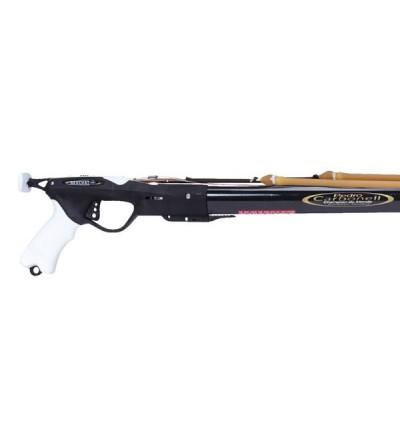 Fusil harpon de chasse sous-marine Beuchat Marlin Carbone HD 125 cm avec fût carbone optimisé pour chasseur expert
