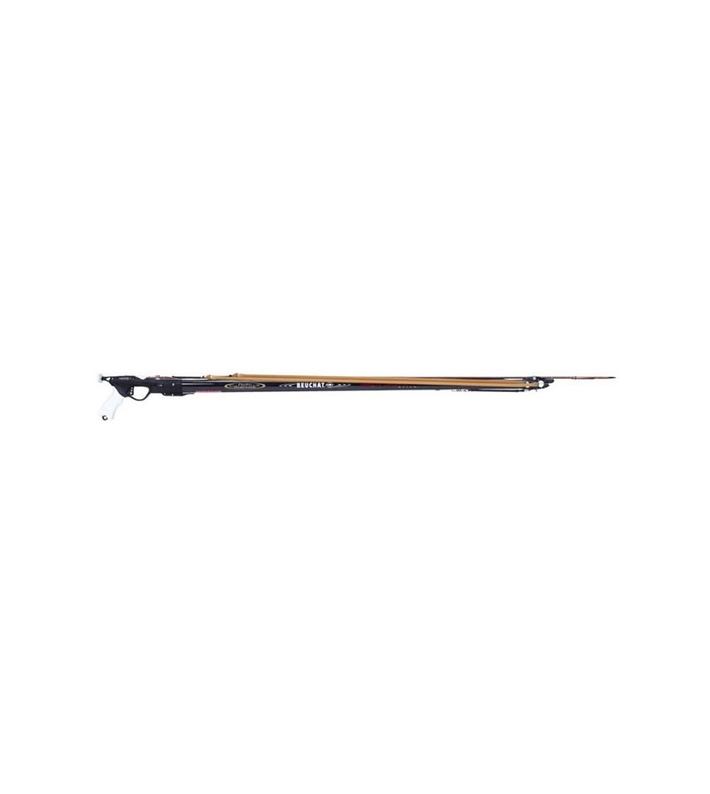 Fusil harpon de chasse sous-marine Beuchat Marlin Carbone HD 95 cm avec fût carbone optimisé pour chasseur expert