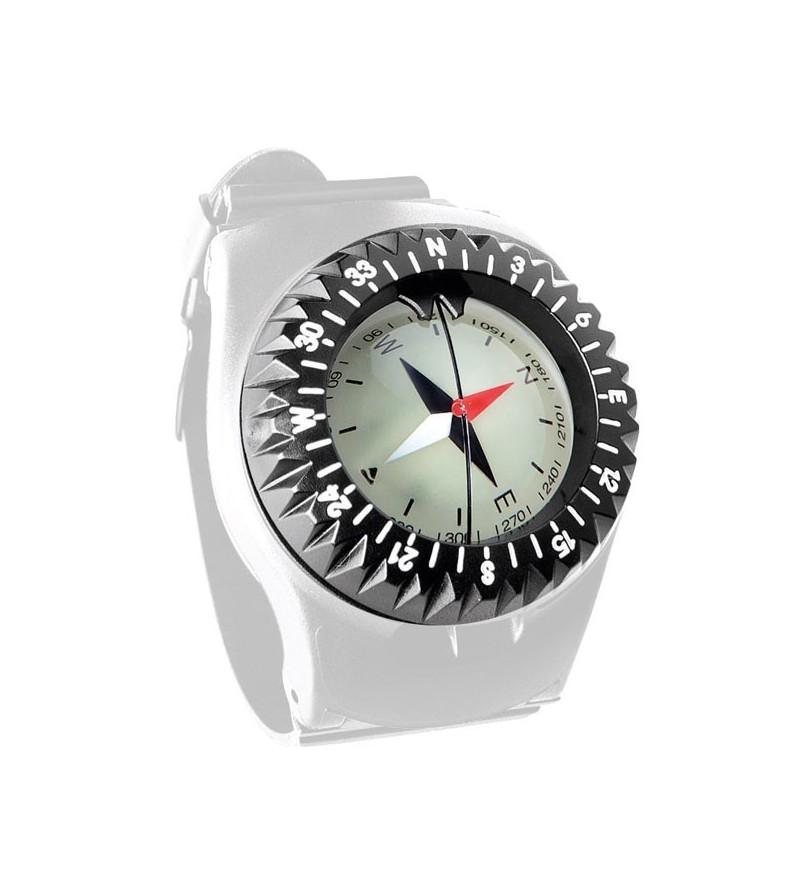 Capsule boussole compas Scubapro FS1.5 facile à lire pour montage sur bracelet ou console instrument
