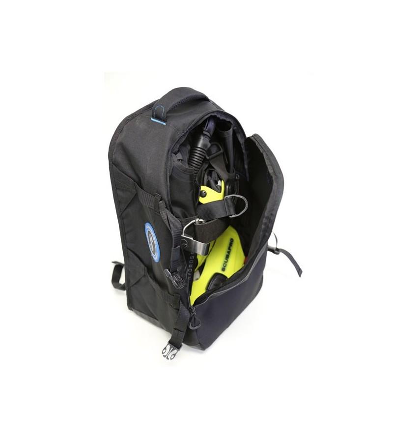 Sac à dos spécialement conçu et dimensionné pour le transport et la protection de votre gilet stabilisateur dorsale Hydros Pro