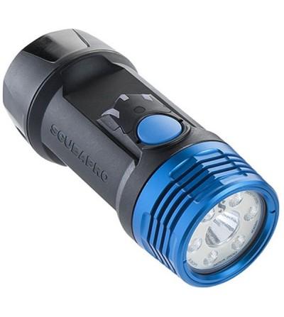 Lampe torche LED de plongée Scubapro Nova 2100 SF, polyvalente, 2 types de faisceau & 5 mode d'éclairage