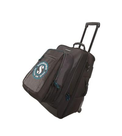 Sac à roulettes semi-rigide de plongée Scubapro Dive'N Roll, 2 en 1 avec son sac à dos amovible. Ideal pour vos voyages