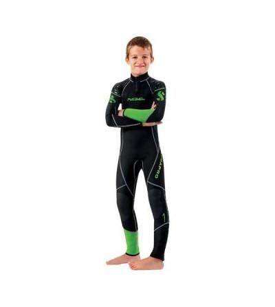 Combinaison de plongée Scubapro Rebel 2.5mm sans cagoule pour plongeur junior en eau chaude