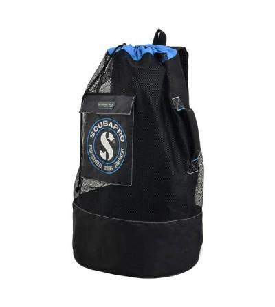 Sac à dos en maille filet Scubapro Mesh Sack de 80 litres pour un équipent de snorkeling ou de plongée en eau tropicale