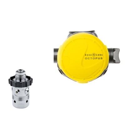 Octopus / Détendeur secours de plongée compatible eau froide Aqualung Calypso Partner DIN 200 bar pour plus de sécurité