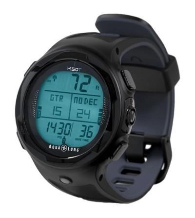Montre Ordinateur multigaz Aqua Lung i450T, élégant et bourré de fonctions, gestion d'air en option - Interface usb - noir