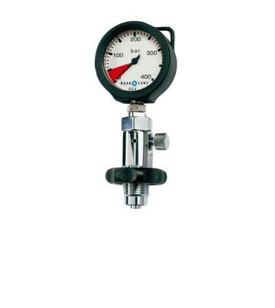 Manomètre de surface DIN Aqualung avec purge à vis
