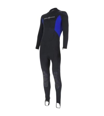 Combinaison Homme monopièce de plongée Aqua Lung Skin Suit en néoprène 0.5mm pour la plongée & snorkeling en eau tiède à chaude