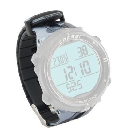 Bracelet de rechange pour montre ordinateur d'apnée Cressi Drake camo mimetic