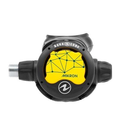 Octopus compensé / Détendeur secours de plongée Aqualung Mikron, léger et compact idéal pour les voyages