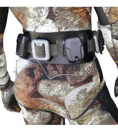Bande de confort Omer en caoutchouc pour ceinture à plomb de chasse sous-marine & apnée