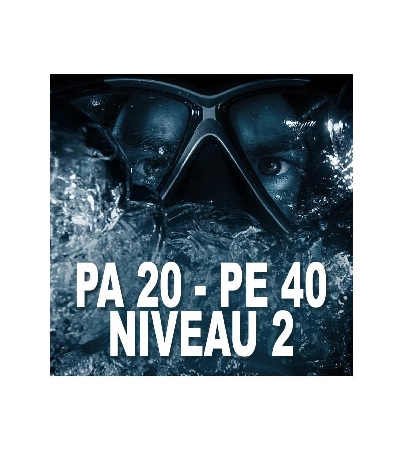Formation FFESSM Niveau 2 - PA20 - PE40 à Marseille en 2 plongées - Plongez encadré jusqu'à 40m et en autonomie à 20m