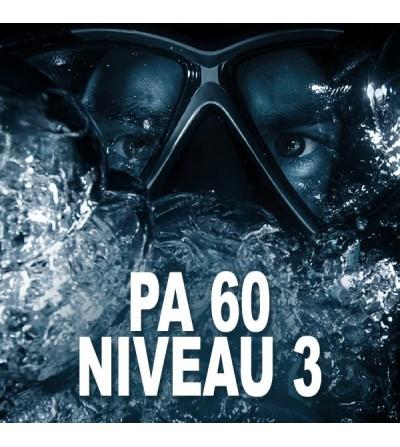 Formation FFESSM Niveau 3 - PA60 à Marseille en 3 plongées - Plongez en autonomie jusqu'à 60 mètres