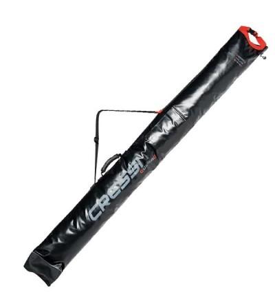 Sac étui long étanche Cressi Dry Gun Bag en nylon 840 deniers pour le transport de fusil & arbalètes de chasse sous-marine