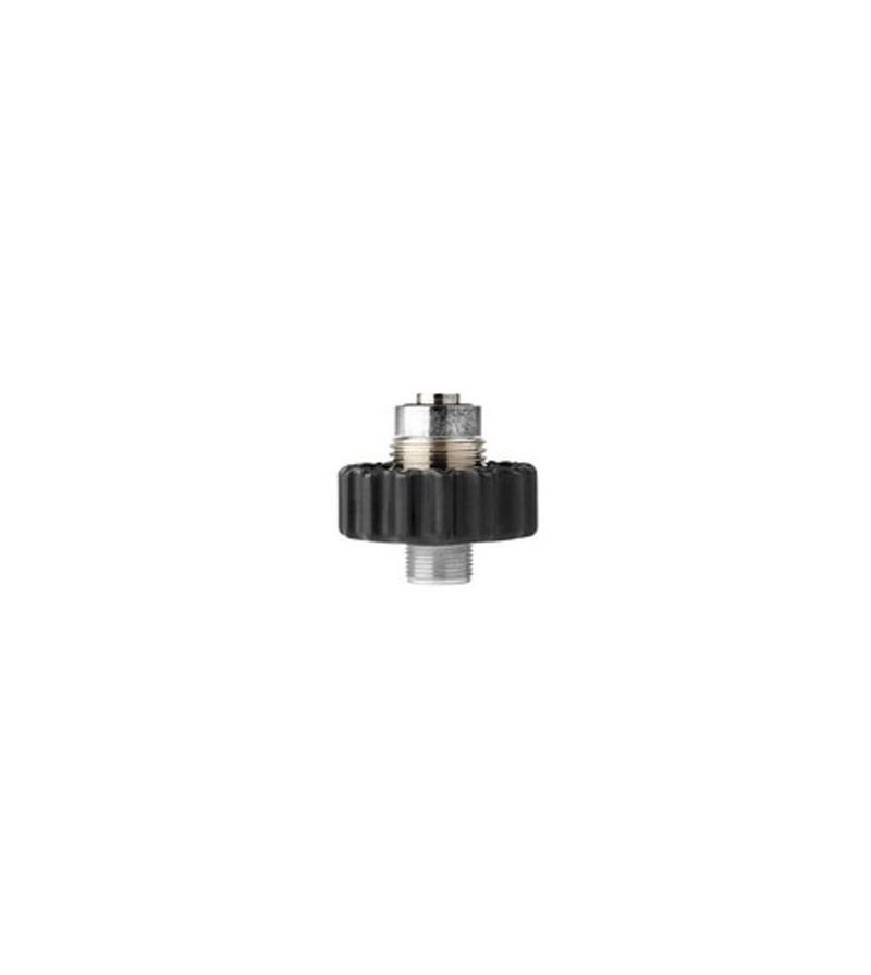 Adaptateur permettant de monter des détendeurs Mares DIN sur des robinets 200 bars ou 300 bars, compatible 82X - 52X - 15X & 2S