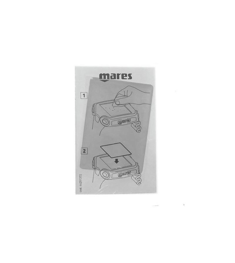 Accessoire indispensable - Protection d'ecran souple et durable pour ordinateur de plongée Mares Quad & Quad Air