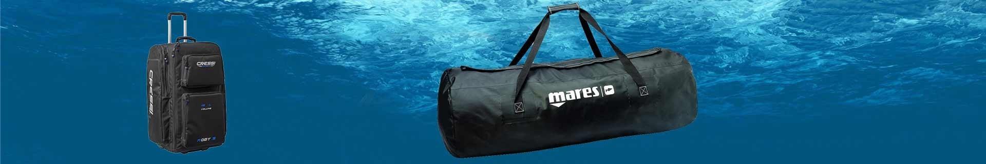 Sacs et bagages de plongée