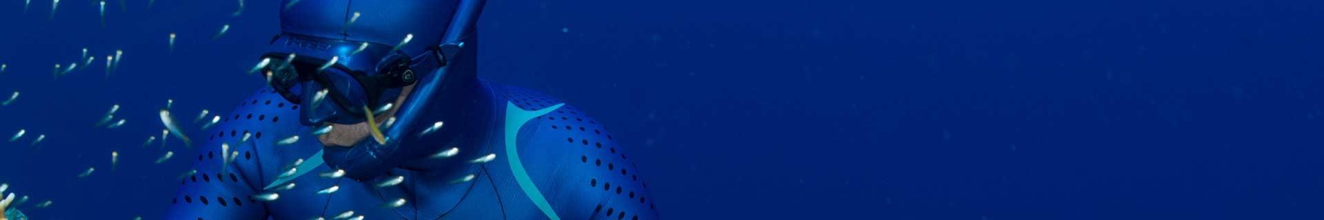 Tubas de chasse sous-marine