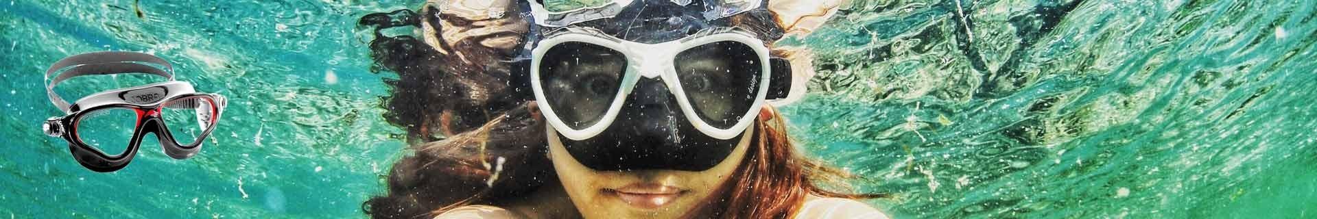 Masques & lunettes d'apnée et nage