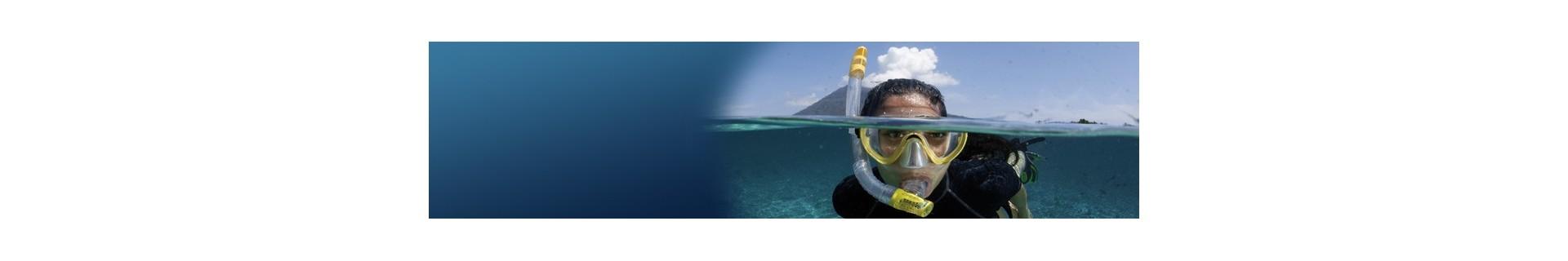 Matériel et accessoires pour le snorkeling, la plage ou les activités aquatiques