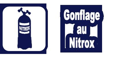 Service gonflage blocs et bouteilles de plongée au nitrox