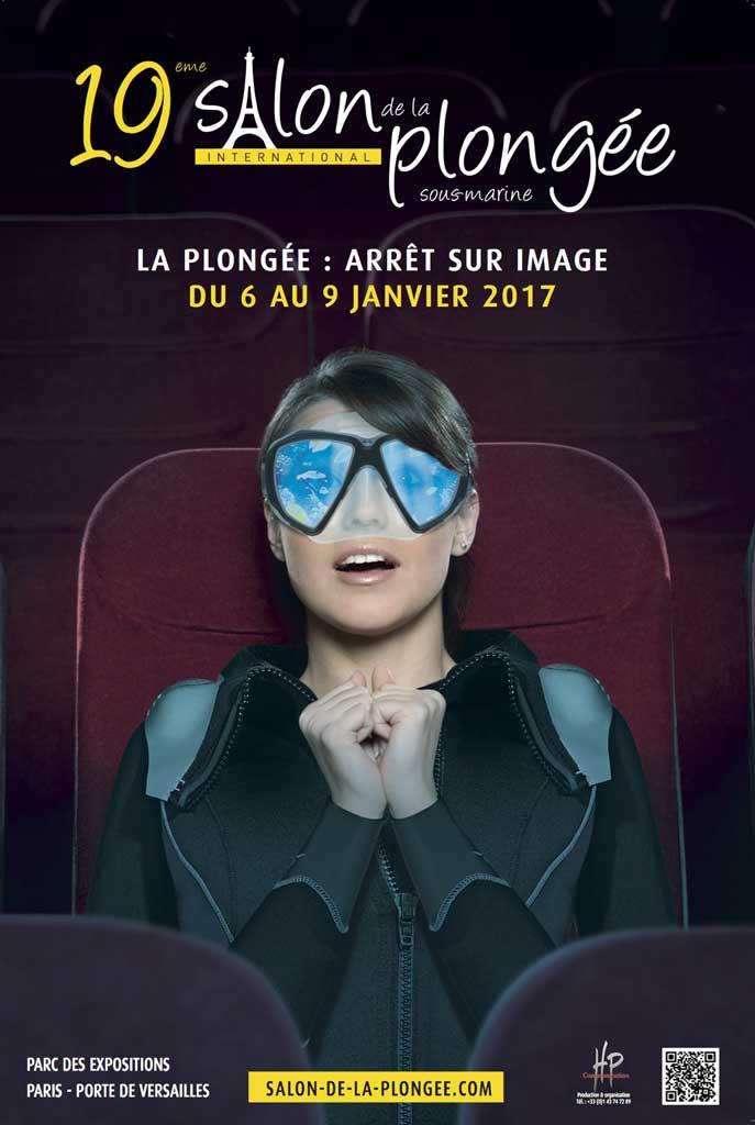 Visuel salon de la plongée 2017 Paris