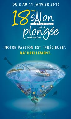 Visuel salon de la plongée 2016 Paris